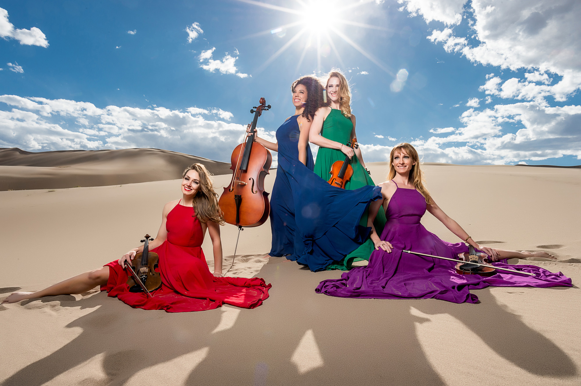 Spinphony Electric String Quartet | About