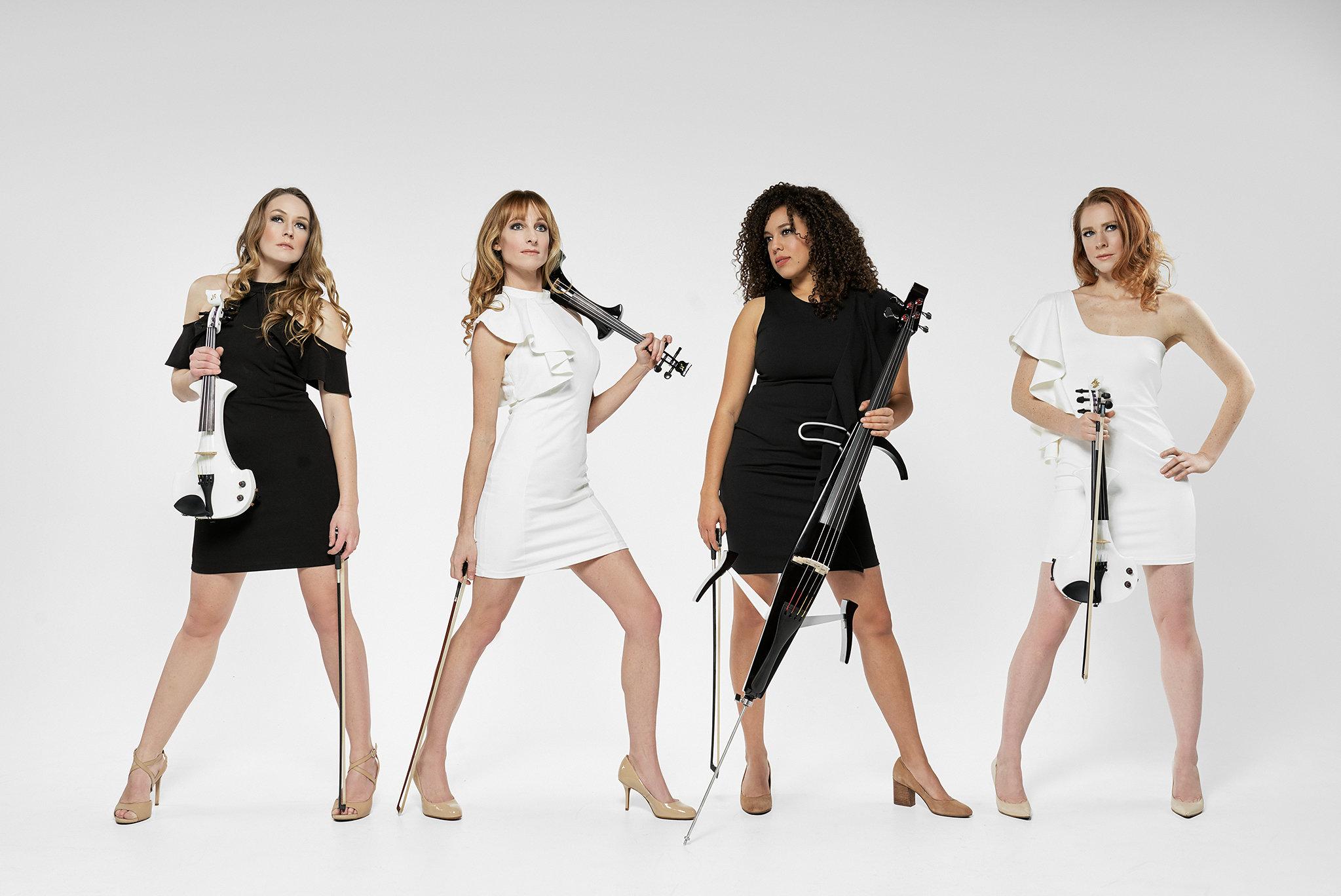 Spinphony Electric String Quartet