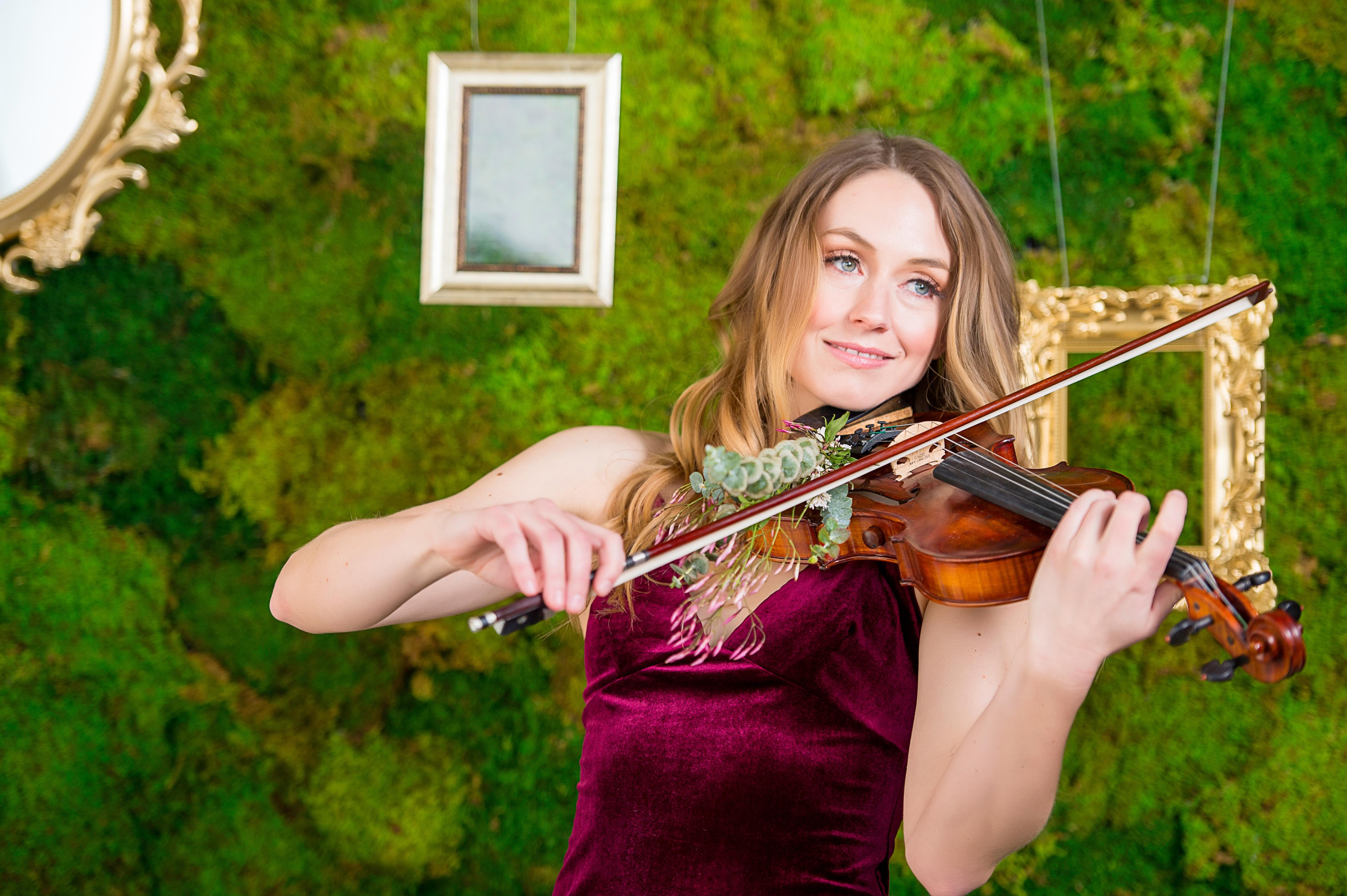 Solo Violin, Cello, or Harp