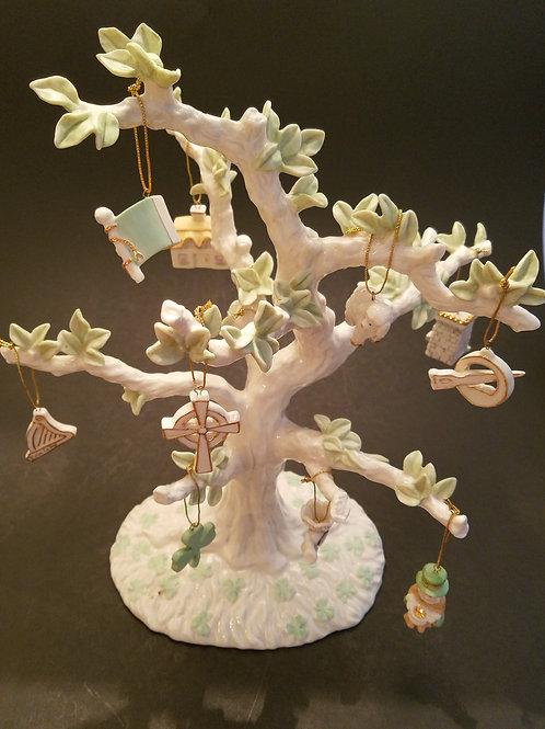 Lenox Luck Of The Irish Tree w/Ornaments