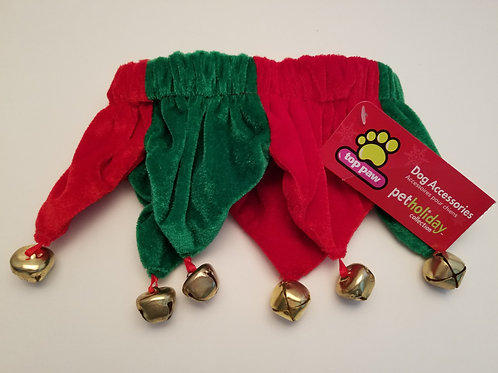 Red & Green Christmas Dog Accessory Collar