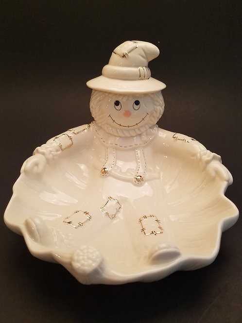 Lenox Scarecrow Candy Dish