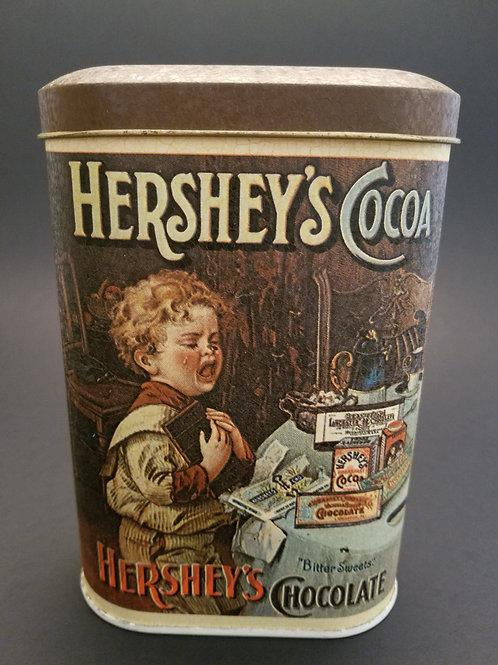 Vintage Hershey's Coco Tin