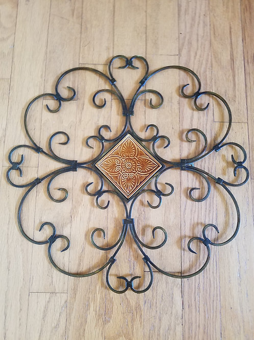 Clover Shaped Metal Decor Hanging