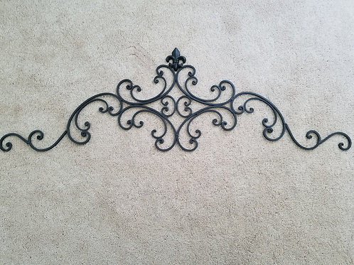 Wrought Iron Metal Decor