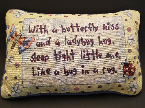 Butterfly Kiss Pillow