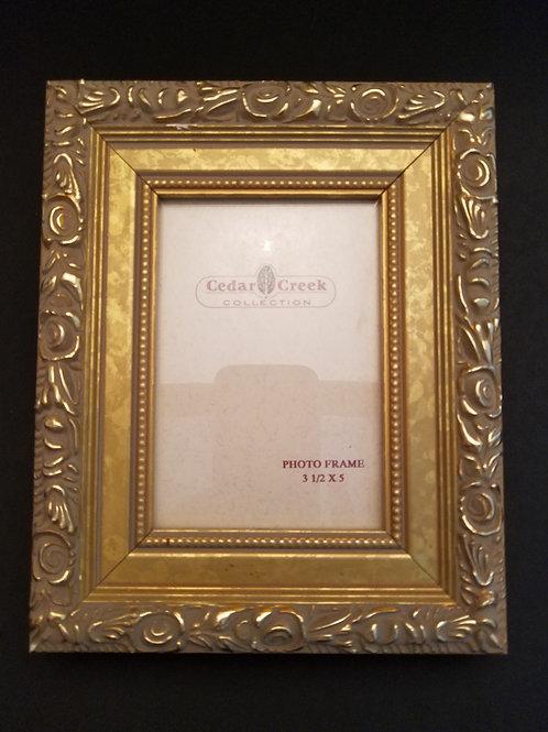 Ornate Vintage Look Gold Frame