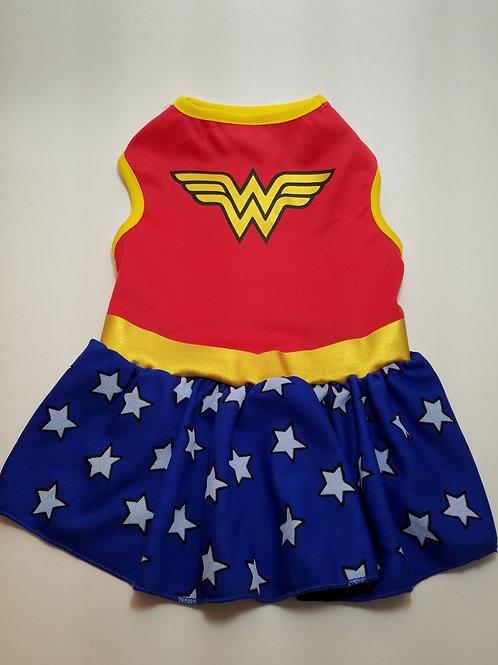 Pet Halloween Wonder Woman Costume