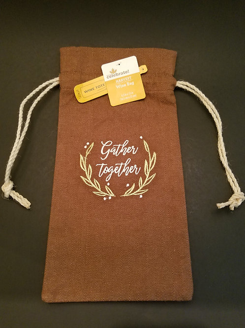 Gather Together Wine Bags