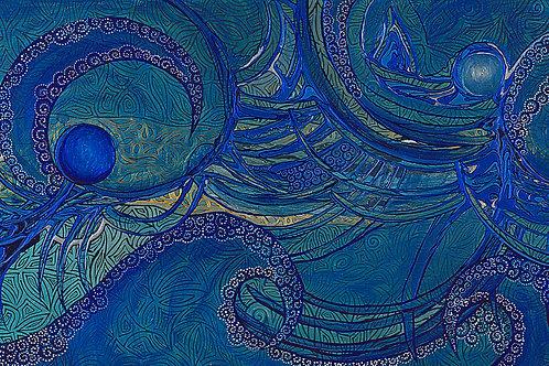 Blue Orbs