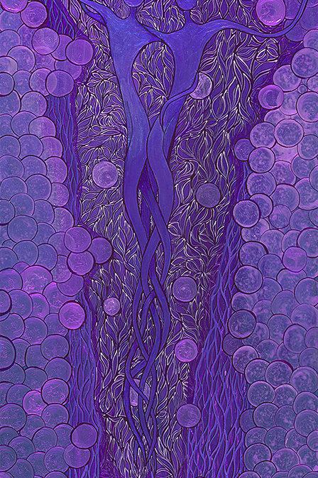 Purple Dancers
