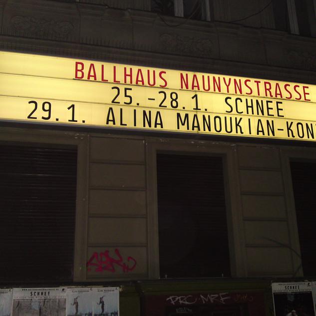 Ballhaus Naunynstrasse Concert number 1