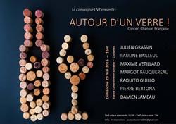 AUTOUR D'UN VERRE (concert)