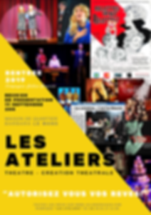 AFFICHE ATELIERS 2019