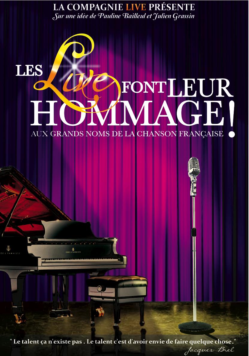 LES LIVE FONT LEUR HOMMAGE!