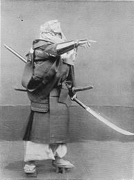 Monk with Naginata