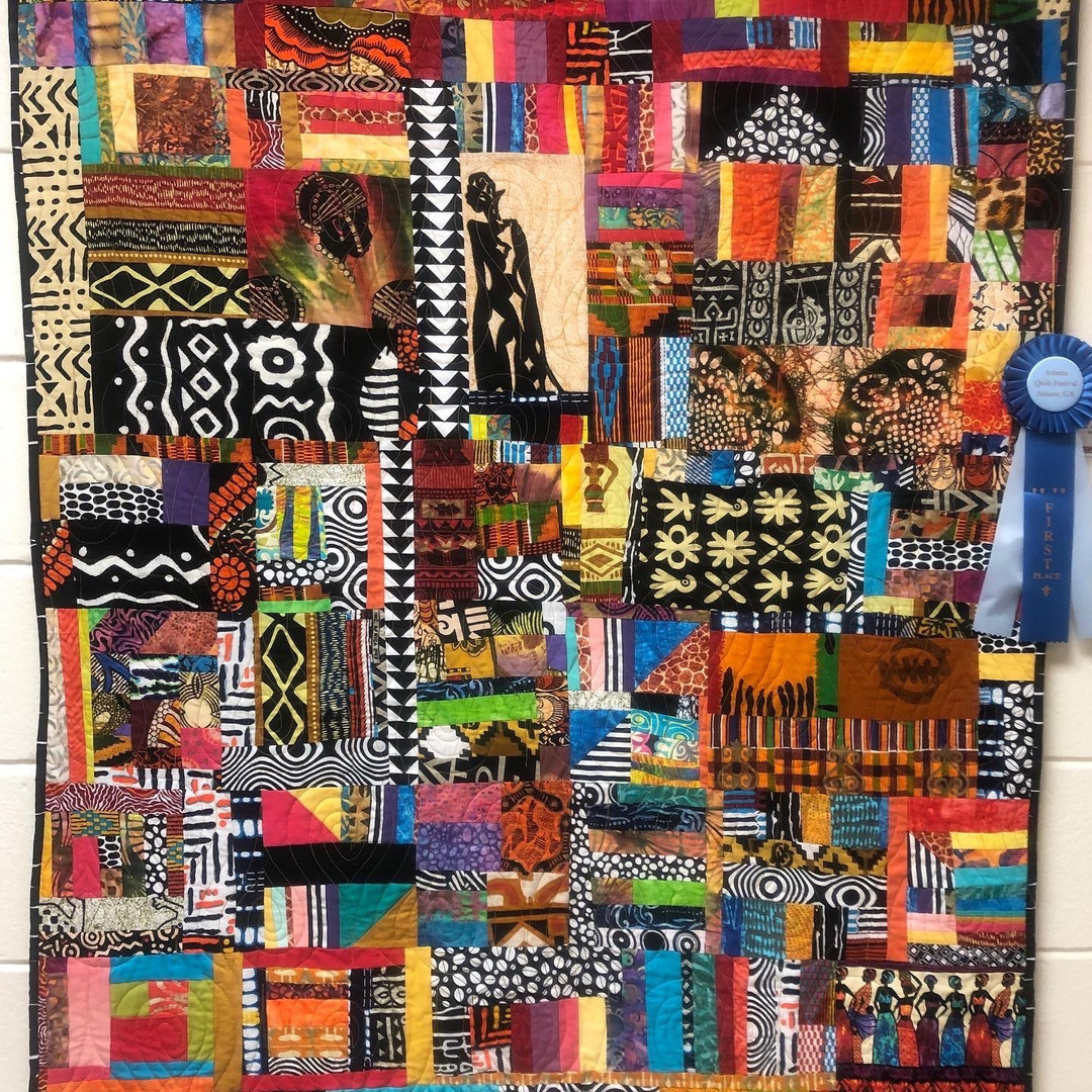 """1st Place - """"African Royalty"""" by Peggy Martin"""