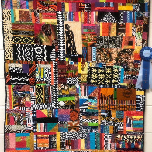 "1st Place - ""African Royalty"" by Peggy Martin"