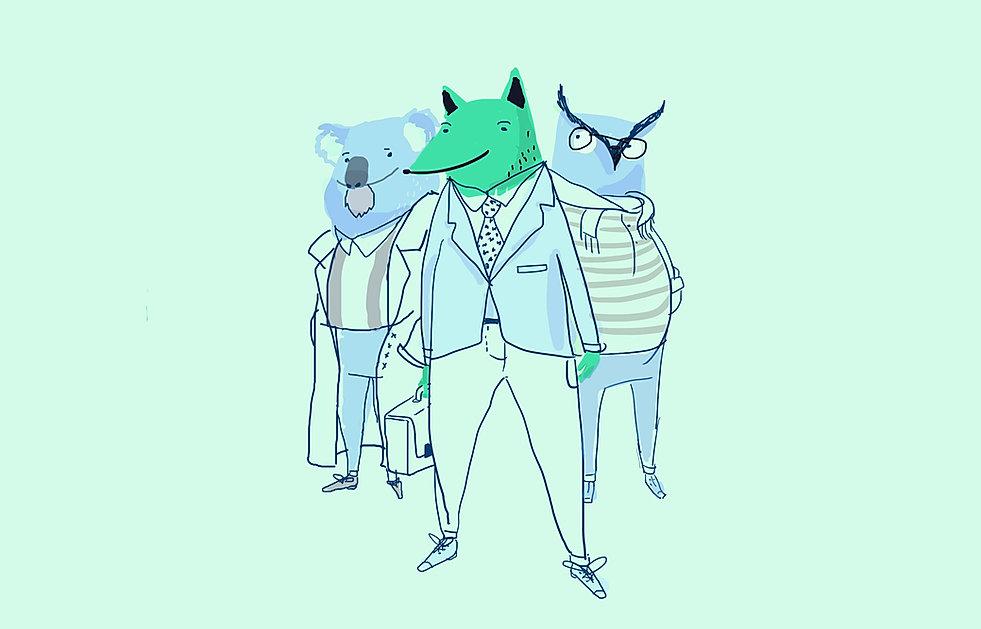 Животные Иллюстрация