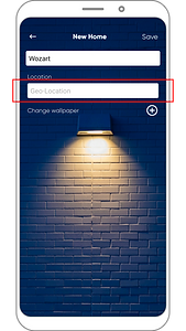Wozart App- Add Home _4
