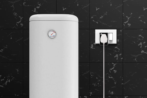 Wozart Smart Plug used to automate a Water Heater.