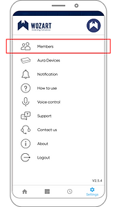 Wozart App - Invite Member _4