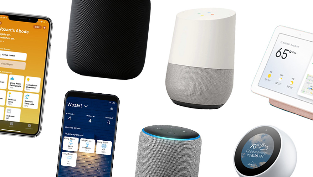 Smart assistants like Google Assistant, Alexa and Siri is an integral part of home automation