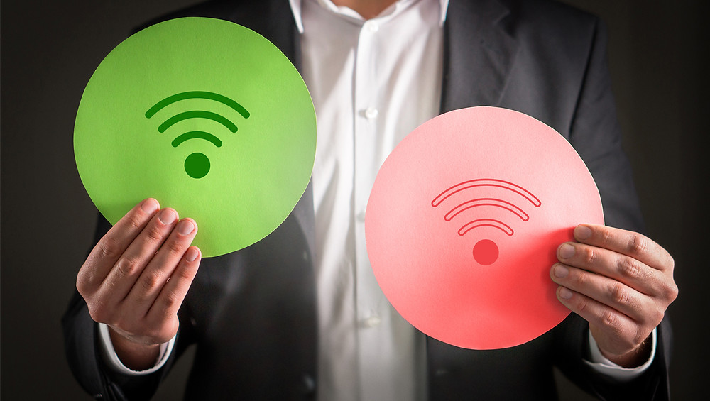 All home automation devices are nowadays wireless using Wi-Fi connectivity