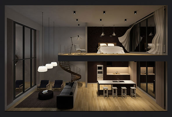 Create your home layout on the Wozart Smart home app and organize your appliances by room.