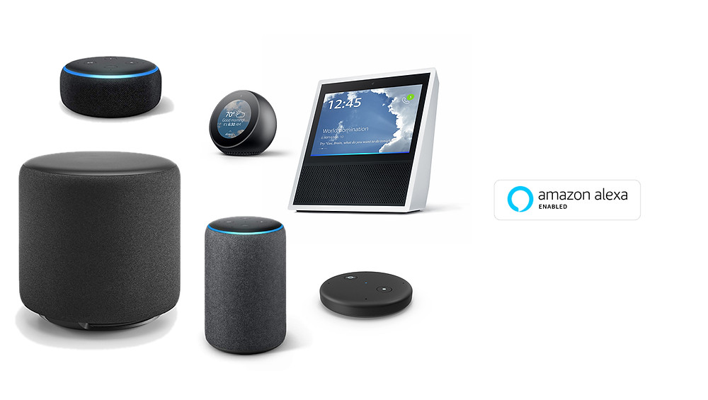 Amazon Alexa powered Echo devices are the best selling smart home speakers