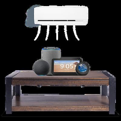 Alexa Smart Displays & speakers.