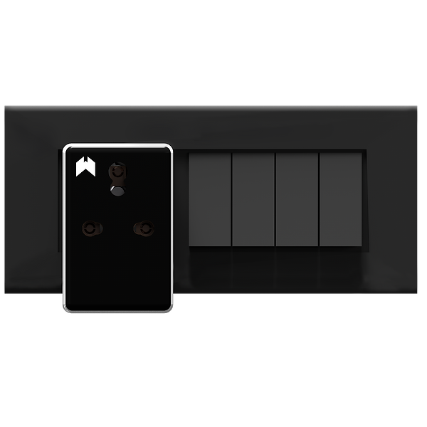 Wozart Smart Plug on a switchboard.png