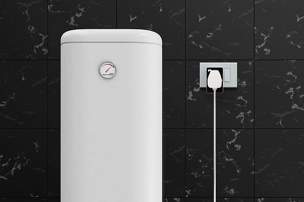 Electric water heater with smart plug.jp