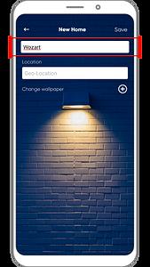 Wozart App- Add Home _3