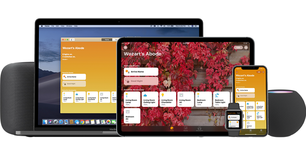 Wozart devices are compatible with Apple Homekit