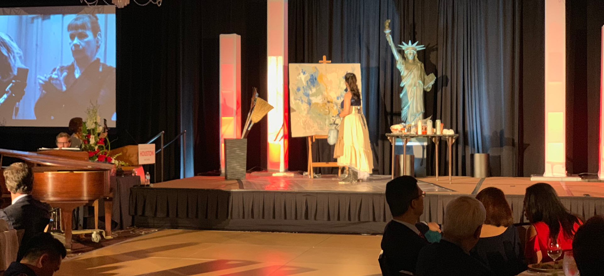Unity Painting with Houston Ballet & Houston Grand Opera, Arrival Awards