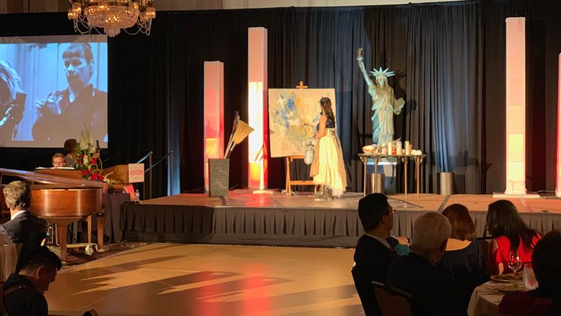 Unity Painting with Houston Ballet & Houston Grand Opera, Arrival Awards