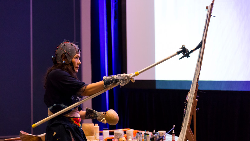 The NAHUAL Project, Brain on Art Conference