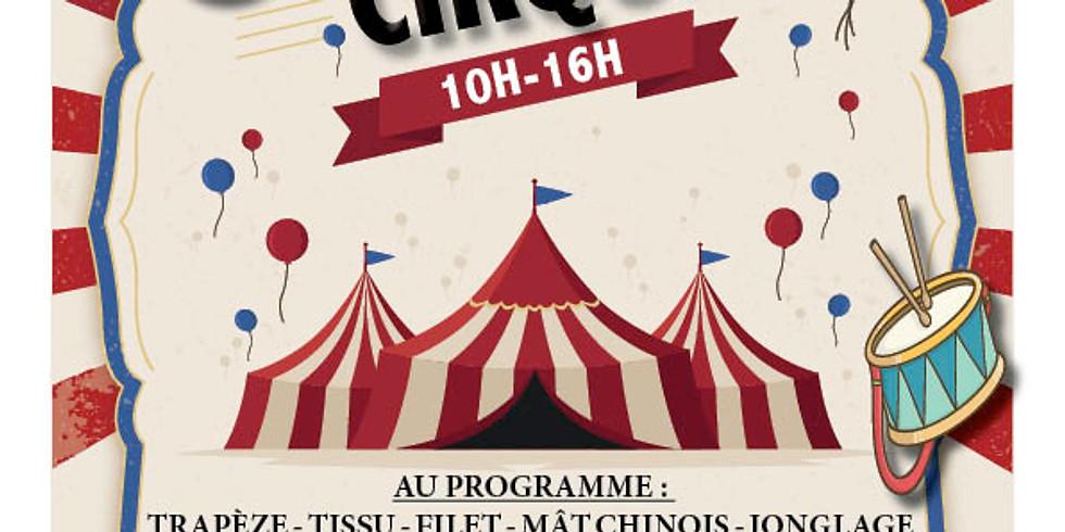 Initiation aux arts du cirque avec la compagnie des Contraires