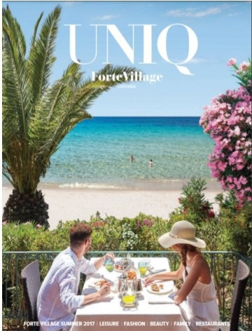 MEGA NFC medical 10 in UNIQ magazine (Forte Village, Italia)