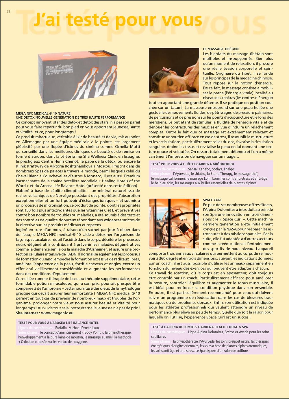Mega NFC medical 10   Nanoble Health Concept   Detox   Antioxidant