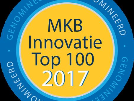 PARCER GENOMINEERD VOOR MKB INNOVATIE TOP100