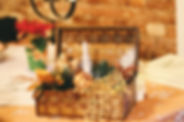 Canva - Brown Wicker Basket With Christm