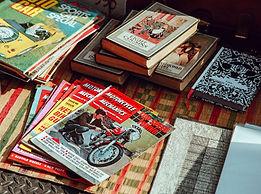 Zdjęcie książek i czasopism