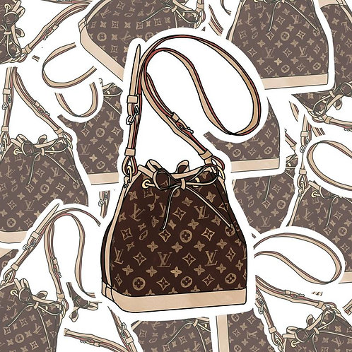Louis Vuitton Noe Bag-Sticker