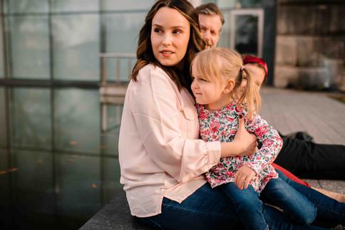 family at VMFA in Richmond fan