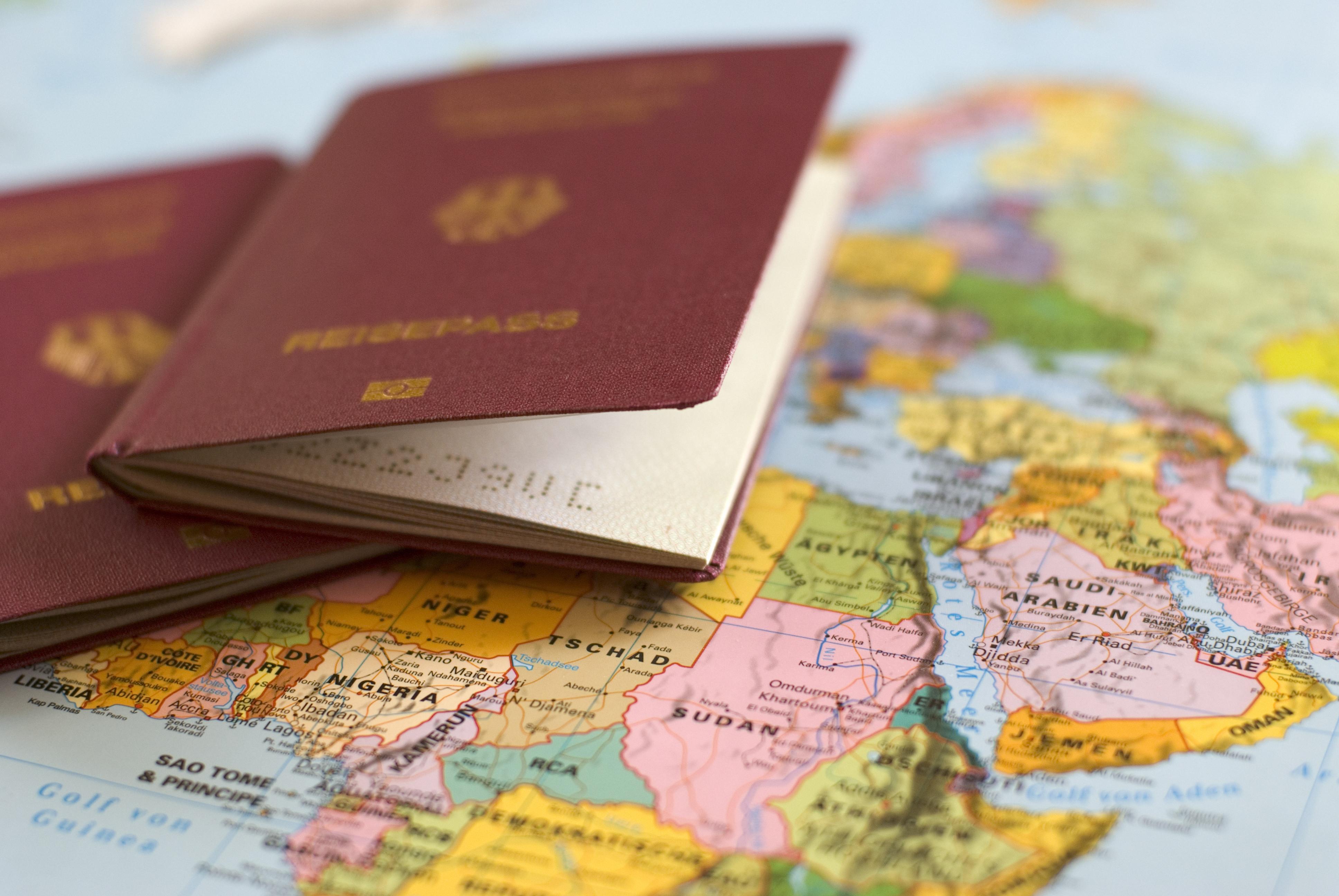 Einreiseformalitäten / QR Code