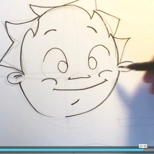 Draw your own cartoon face
