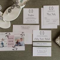 Simple Design Wedding Invitation