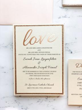 love-wedding-invite-gold-foil